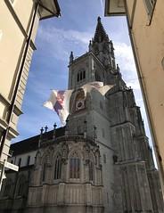 banners up (m_big_b) Tags: konstanz church banner