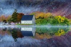 Gouganebarra reflections Oct '18 (Pat Kelleher) Tags: reflections fall autumn landscape mist nature outdoor ireland