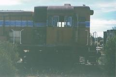 WAGR H class pic - cab (Gunzelman) Tags: trains railways wagr westrail westernaustralia westernaustraliangovtrailways westernaustralianhclasslocomotives h1 englishelectriclocomotives gunzelman railtransport transport preserveddiesellocomotives preservedlocomotives scttransport sct