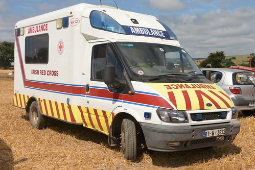 a8c330a51d Irish Red Cross 2001 Ford Transit Wilker Voyager Mk1 CEN Ambulance 01W3622