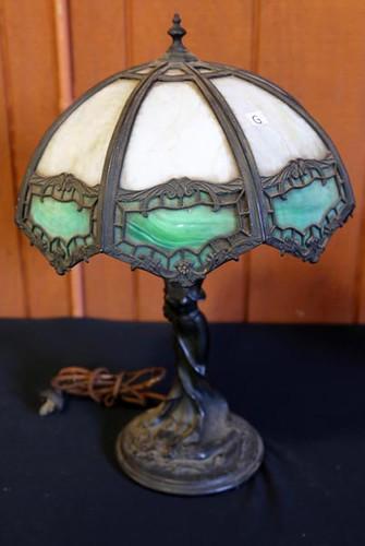 Art Noveau lamp ($280)