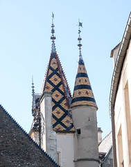 Beaune - Hospice Roof P1012255 (robsonc) Tags: france beaune