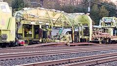 Amtrak TLM (beagenm) Tags: amtrak tlm tracklayingmachine railtrain mow northeastcorridor levittownpa levittownstation