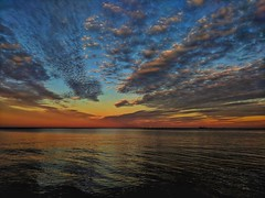 End of the Summer sundown at the Gdańsk Gulf (elnina999) Tags: sopot poland resort beach sunset vividcolors skyscape skycolors outdoors travel europe peaceful evening dramatic relaxing famous touristy europeantravel greatphotographers
