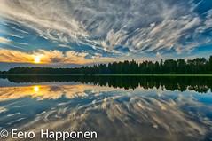 Ghost clouds in the sky (Eero Happonen) Tags: 2018 fujifilmxt2 fujinonxf1024mmf4rois joutsjärvi lohilahti mäntykallio sysmä heinäkuu heinäkuu2018 kesämökki pilvet taivas