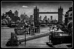 London_Thames River_Tower Bridge_HMS Belfast_Canary Wharf_GB (ferdahejl) Tags: london thamesriver towerbridge hmsbelfast canarywharf gb dslr canondslr canoneos800d