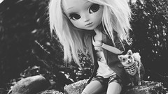 Lillen (Pullip FC bu PoisonGril) (Rose*aime*OH!) Tags: pullip pullipdoll poupée pullipfc pullipobitsu beauty beautiful love bw