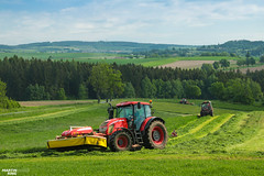 Cut of Grass | ZETOR // PÖTTINGER (martin_king.photo) Tags: springwork springwork2018 silage silage2018 zetor outdoor today claasworldwide pöttinger tree trees landscape meadow field green tractor red strong huge big machine sky martin king photo agriculture machinery machines tschechische republik powerfull power dynastyphotography lukaskralphotocz agricultural great day czechrepublic fans work place tschechischerepublik martinkingphoto welovefarming working modern landwirtschaft colorful colors blue photogoraphy photographer canon love farming daily tires onwheels farm skyline highlands spring beautiful nice world painting scenery europe texture view zetorteam
