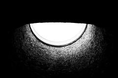 Daylight (JCTopping) Tags: stone 6d daylight pit upward pennsylvania darkness canon blackandwhite 24mm scranton unitedstates us