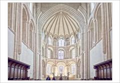 Cerisy-la-Forêt (dolorix) Tags: dolorix frankreich france normandie kirche church abtei abbey cerisylaforêt saintvigor