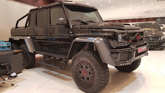 Brabus G700 6x6 (haseebahmed312) Tags: brabus mercedes truck pickuptruck track 6x6 suv modified modification black germany german coupe car carbonfiber convertible city cabrio supercar spyder specialedition sportscar super sedan spider special roadster roadlegal