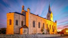 Wonderful Germany-Medebach (Markus Jaschke) Tags: sonnenuntergang sunset bluehour blauestunde herbst autumn fujifilm1024 fujixt3 fuji germany deutschland sauerland medebach kirche church