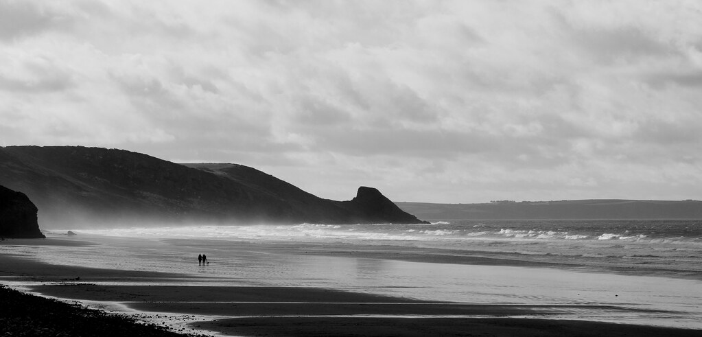 Newgale - southern end