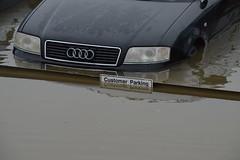 Carmarthen Storm Callum (howell.davies) Tags: storm callum carmarthen wales uk nikon d3200 55300mm flood flooded flooding water wet cars motors vehicles sign signs