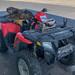 Dog Guarding ATV, Macdoel, California