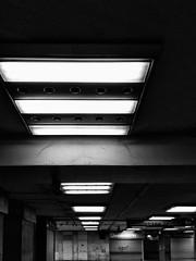 Budapest - Nyugati (LG_92) Tags: budapest subway metro hungary underground blackandwhite bw blackwhite monochrome decay empty emptiness noir lights night nightlights 2018 xiaomi mobilepics nyugati fridaynight neglected
