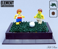 Element Experimentation: Grass (Emil Lidé) Tags: lego moc element experimentation grass football soccer