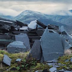 Slate (Damian_Ward) Tags: ©damianward damianward wales snowdonia dinorwig gwynedd mountains slate mine quarry
