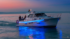 Boat at Lake Balaton, Hungary (OvrMax) Tags: boat ship sunset blue hour golden canon photo canon450d photography pirateship pirate water lake sea canon1855 balaton hungary