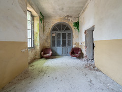 Abandoned school (NأT) Tags: school escuela école teach teacher students child children childhood abandoned abandon abandonné abandonnée abbandonato abbandonata ancien ancienne alone architecture zuiko colors doors explorationurbaine em1 exploration explore exploring empty explo explored rust rusty ruins rotten room trespassing urbex urban urbain urbaine urbanexploration interior inside inexplore olympus omd old past photography decay decaying derelict dust decayed dusty forgotten forbidden lost light memories nobody neglected building verlassen closed nature life