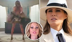 Melania Trump lookalike who STRIPS in new video hits back after being called 'DISGUSTING' (worldnewsnest) Tags: music now playing