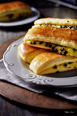 Brioches Svizzere (Stefania Casali) Tags: food bread gourmet homemade dark rustic nopeople freshness plate sandwich meal grilled table breakfast meat closeup foodanddrink snack readytoeat condiment