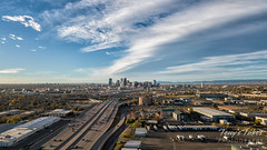 October 27, 2018 - The Mile High City under a wave cloud. (Tony's Takes)