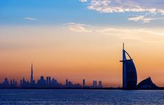 City of Adventures. #dubai #uae #burjalarab #burjkhalifa #skyline #skyscraper #sky #dusk #dawn #sunrise #sunset #bluehour #goldenhour (abphotographydxb) Tags: dubai uae burjalarab burjkhalifa skyline skyscraper sky dusk dawn sunrise sunset bluehour goldenhour