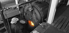 P.S. Marion (Teutonic01) Tags: marion paddlesteamer murrayriver mannum southaustralia boiler fire