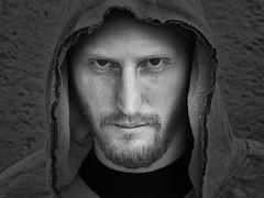 Marc (ingrid eulenfan) Tags: fotoshootings mann men portraits porträt schw schwarzweis blackandwhite sonyalpha6000 sigmae60mm