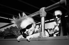 We rock. (magat129245) Tags: olympusxa xa2 ilford hp5 ilfotechc tanger morocco citytour bus september 2018 blackwhite blackandwhite blanconegro blancnoir analog film filmcommunity filmnotdead filmshooters contrast trip family saragata polishinmorocco light shadow
