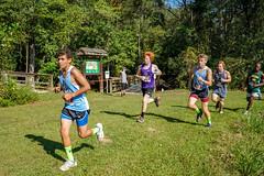 FLO05944 (chap6886@bellsouth.net) Tags: running run race girls boys team trees lake athletes action athletics america xc 5k highmiddleschool highschool