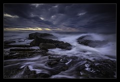 Hopeman (L.P.M PHOTOGRAPHY) Tags: opeman moray scotland daisy rock sea ocean beach waves storm landscape seascape travel filters long exposure