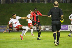 Lewes 2 Kings Langley 1 FAC replay 26 09 2018-117.jpg (jamesboyes) Tags: lewes kingslangley football nonleague soccer fussball calcio voetbal amateur facup tackle pitch canon 70d dslr