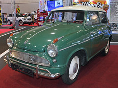 Export Alexander (Schwanzus_Longus) Tags: alexander america american blue borgward bremen car classic compact dome export german germany lloyd lot motorshow parking sedan small tiny ts us vehicle vintage