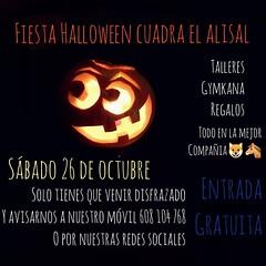 BUENAS NOTICIAS🎃🐴!!! Este año en Cuadra El Alisal estamos preparando una fiesta de Halloween para todos los que quieran pasar una buena tarde!!!! Lo único que tenéis que hacer es venir disfrazados y con muchas ganas de pasarlo genial.