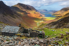 Warnscale Bothy (Rich Walker Photography) Tags: honister lakedistrict buttermere haystacks mountain bothy mountains lakes lake cloud clouds sky building slate mine landscape landscapes landscapephotography canon england efs1585mmisusm eos eos80d
