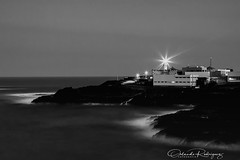 Glooms (Instagram: orlan_rs) Tags: blancoynegro blackandwhite mar faro lighthouse