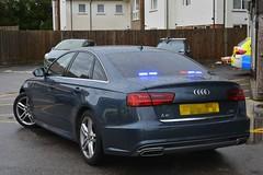 Unmarked Traffic Car (S11 AUN) Tags: sussex surrey police audi a6 30tdi quattro saloon sline unmarked anpr traffic car rpu roads policing unit 999 emergency vehicle