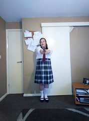 Hermione's newest Mindy Mccready/Hit Girl lost schoolgirl look (hermionesimpson) Tags: cd crossdressing crossdress crossdresser crossdressed tg trans transfemale tgirl transwoman ts transsexual transexual white blouse whiteblouse tartan skirt tartanskirt black shoes blackshoes socks whitesocks red redandblacktie mindymccready mindymccreadycosplay mindymccreadycosplayer mindymccreadycostume mindymccreadyfancydress mindymccreadyuniform mindymccreadyschooluniform hitgirl hitgirlcosplay hitgirlcosplayer hitgirlfancydress hitgirlcostume hitgirluniform schooluniform hitgirlschoolgirluniform