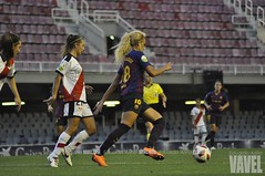 _DSC0111 (VAVEL España (www.vavel.com)) Tags: fcb barcelona barça femenino rayo liga goleada fútbol football futfem
