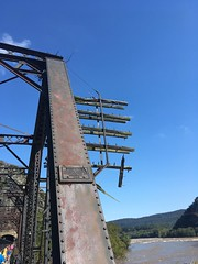 Harper's Ferry Bridge (batterymillx) Tags: harpersferry harpers ferry wv west virginia westvirginia outdoor park nationalpark national river potomacriver potomac shenandoah shenandoahriver