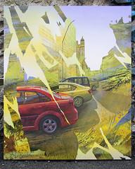 Yellow Portal (SERGEY AKRAMOV) Tags: сергейакрамов sergeyakramov graffiti graffuturism green postgraffiti streetart street art artwork fineart sprayart contemporary contemporaryart gallery canvas paint painting acrylic alvitrgallery