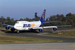 Atlas Air  Boeing 747-446 N465MC (widebodies) Tags: frankfurt hahn hhn edfh widebody widebodies plane aircraft flughafen airport flugzeug flugzeugbilder atlas air boeing 747446 n465mc