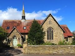 Alnmouth Wesleyan Chapel (Snapshooter46) Tags: alnmouth wesleyanchapel spire tiledroof sandstone northumberland