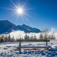Gantrisch Winter (Bugtris) Tags: gurnigel 2470f4l nebel landschaft fog sonne winter schnee berg langlauf canon 5dmkiii alpen gantrisch