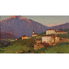 2584--fausto-zonaro-1854-1929-riviera-alpleri (skaradogan) Tags: