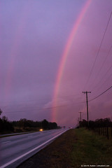 2014.11.06.0158 Autumn Rainbow (Brunswick Forge) Tags: 2014 virginia autumn night botetourtcounty rain water outdoors outdoor grouped favorited