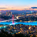 _DSC2016 - The Bosphorus Bridge panoramic skyline