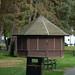 Closed hut at Brueton Park, Solihull
